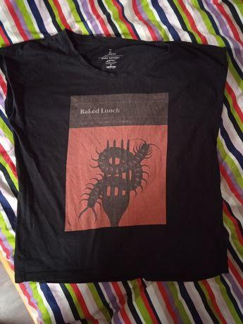 Koszulka Naked Lunch Maks Bereski medicine grafika bluzka czarna