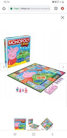 Gra Monopoly Junior Peppa Pig po polsku
