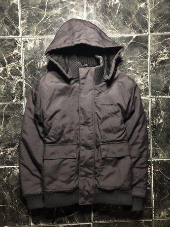 Зимова Куртка Пуховик carhartt розмір M/tnf 700/hally hansen