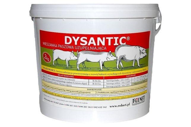 Dysantic -mieszanka paszowa uzupełniająca roslinna na biegunkę