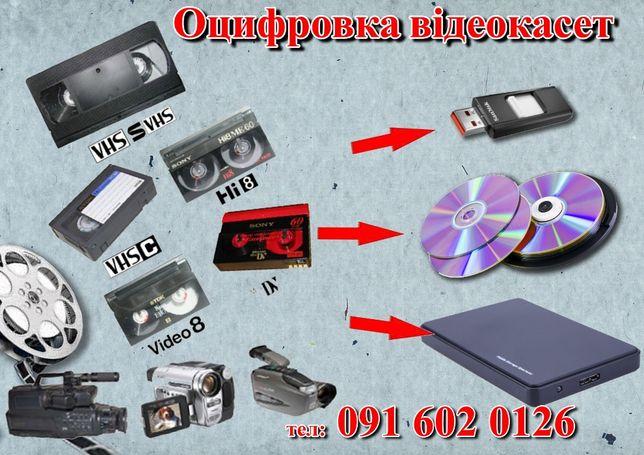 Оцифровка відеокасет