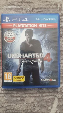 Uncharted 4 Kres Zlodzieja PS4