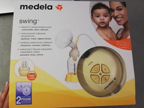Двухфазный электрический молокоотсос Medela Swing + Кальма соска