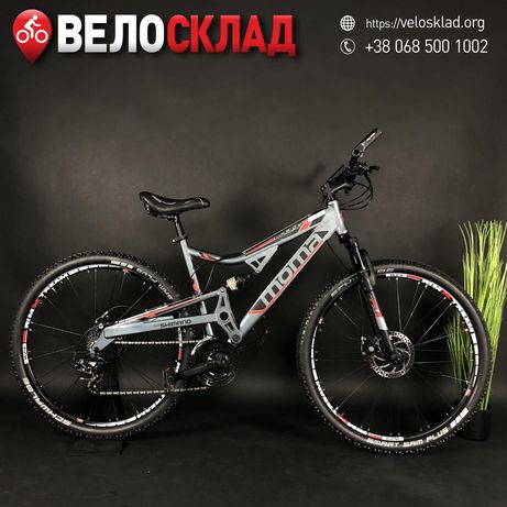"Двухподвес Moma 29"" Cube Trek Merida Giant"