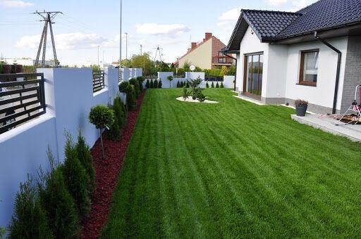 Usługi ogrodnicze koszenie trawnika trawy pielęgnacja wertykulacja