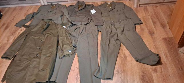 Zestaw Mundur wyjsciowy  olimpijka of. wojsk lądowych płaszcz