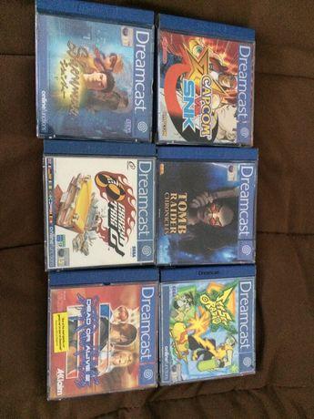 Jogos Dreamcast vendo em separado