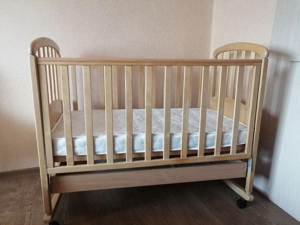 Кроватка кокосовый матрас