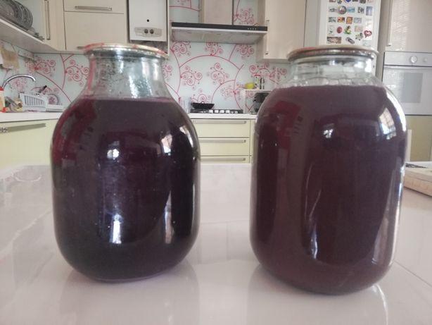 Виноградный сок,  натуральный, без сахара, воды.