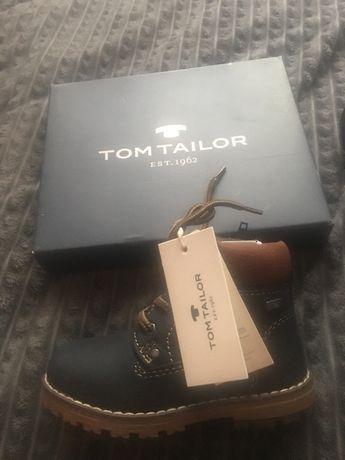 Детские ботинки Tom Tailor разм. 23