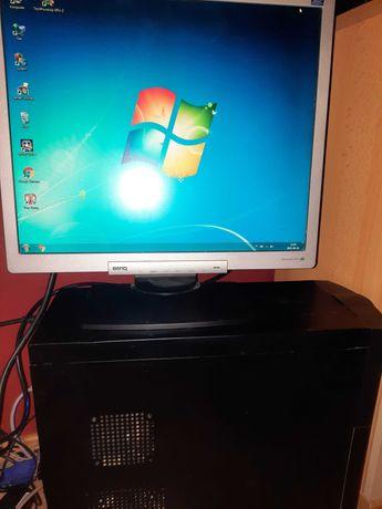 Komputer PC core 2 quad gtx 280 windows 7 benq