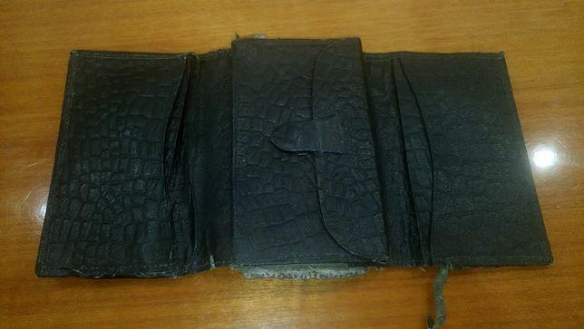 Бумажник антикварный 30 -50 годы прошлого века