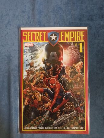 Комикс Secret Empire #1