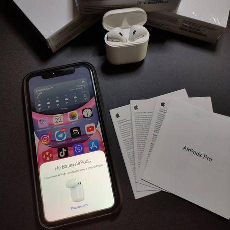 Apple Airpods 2 люкс
