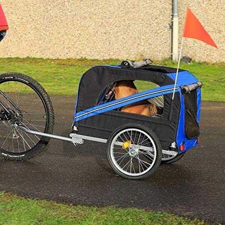PRZYCZEPKA rowerowa dla psa DIBEA