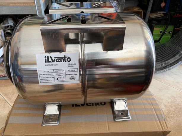 Гидроаккумулятор (Бак) 24 литра нержавейка