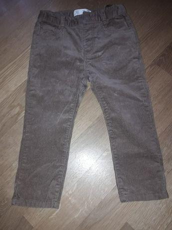 Штани Zara для хлопчика вельветові 98р.