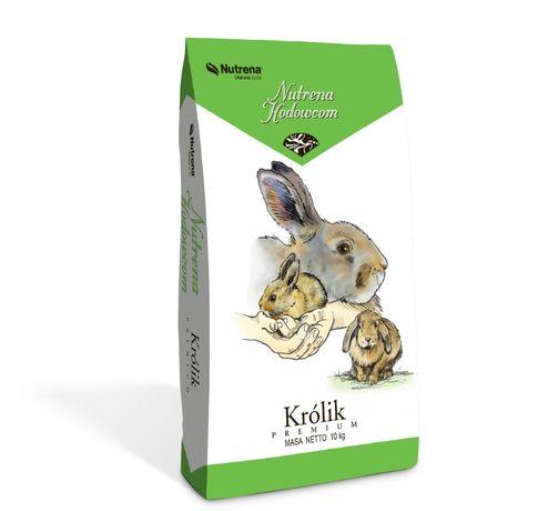 Pasza dla królików Królik Premium z kokcydiostatykiem 25kg