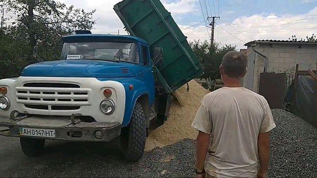 Щебень, песок, отсев, чернозем, высыпка. Доставка в Борисполе и Районе
