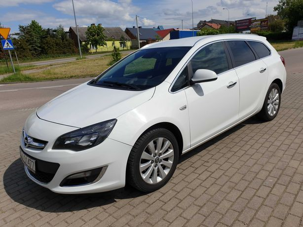 Opel Astra 1,7cdti  led 2012/13rok Po liftingu COSMO ZAMIANA NA MOTOR