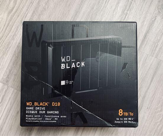 WD D10 Black 8Tb (WDBA3P0080HBK) Playstation, Xbox, PC, & Mac