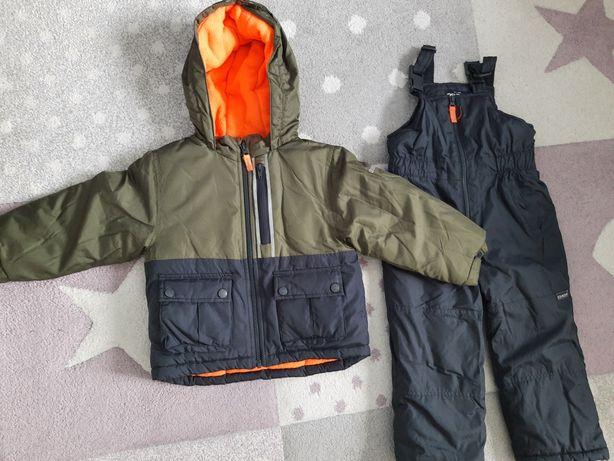 Komplet na zimę kurtka i spodnie narciarskie kombinezon