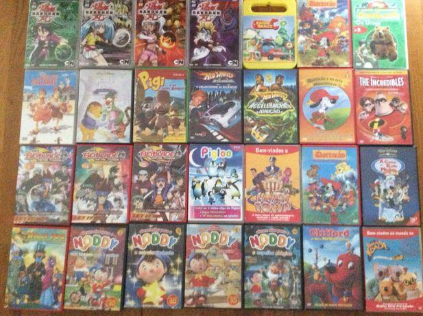 30 DVD infantis