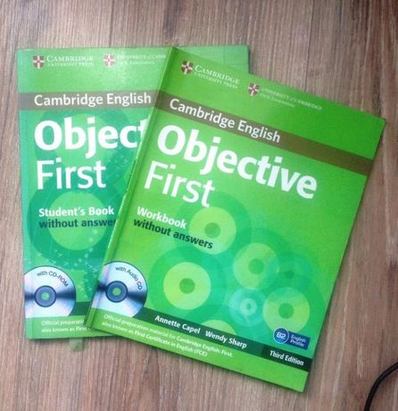 Objective first third edition Student's book and Workbook