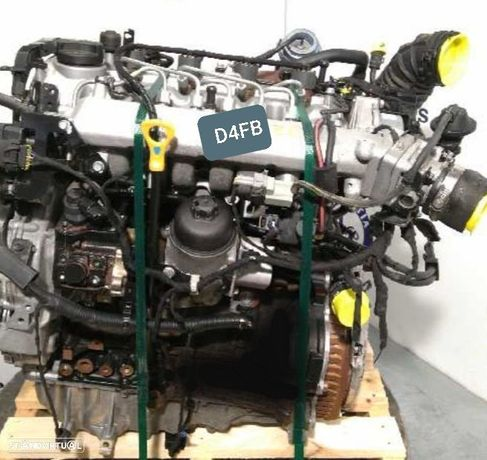 Motor Kia Ceed 1.6Crdi 116Cv Ref.D4FB
