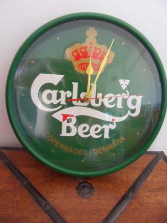 Relogio de Parede Carlsberg Antigo