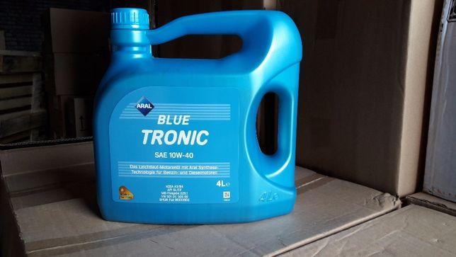 Масло моторное полусинтетическое Aral BlueTronic SAE 10W-40 (16 л.)