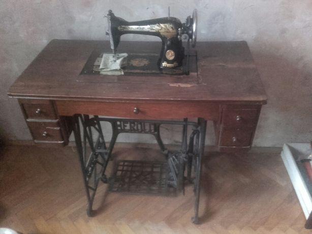 Sprzedam Maszynę do szycia Singer herold wittenberge prusy zabytek