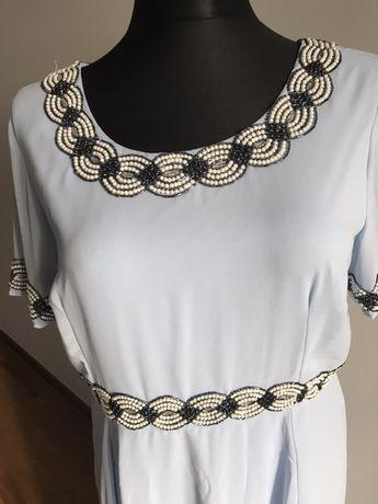 Suknia elegancka długa XXL