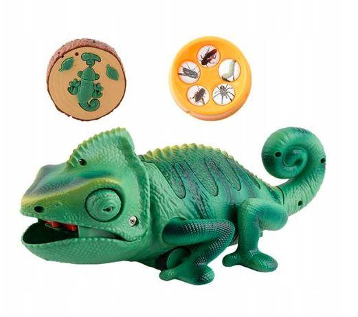 Kameleon zabawka interaktywna
