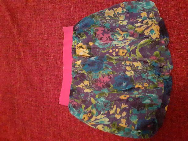 Spódnica bombka w kwiaty rozmiar M