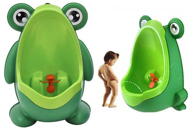 Nocnik Pisuar na ścianę dla dziecka chłopca żaba