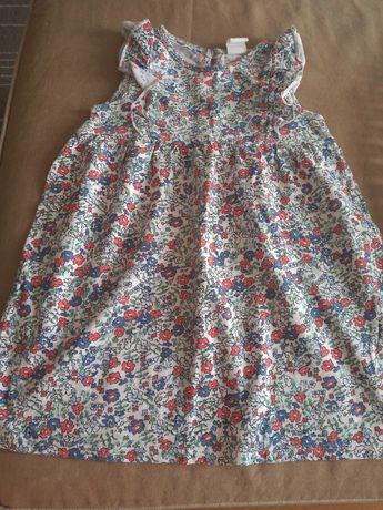 Sukienki bawełniane H&M 86r.