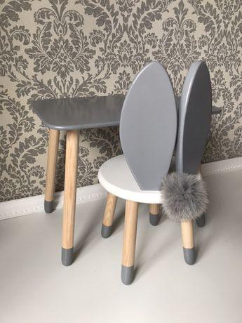 Детский деревянны стол, стул, стульчик, столик
