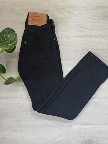 Spodnie jeansy Levi's 501 W26 L32 high waist wysoki stan