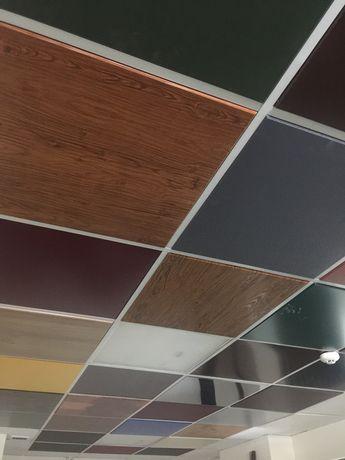Цветные металлические плиты,по типу армстронг