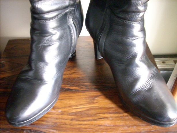 Botas pele e originais Pedro Miralles cor preto tamanho 38
