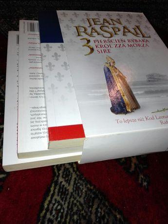 Jean Raspail zestaw książek Sire Pierścień Rybaka Król zza morza