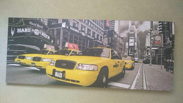 Obraz NY Taxi na płótnie