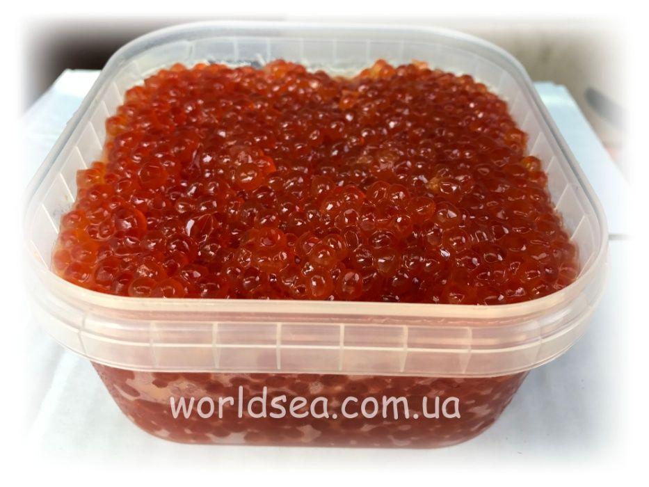 Икра красная лососевая зернистая горбуша (оригинал) 1 сорт