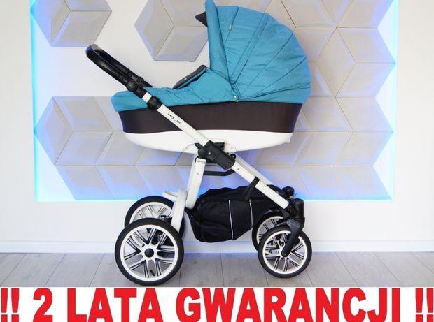 Wózek BEBETTO HOLLAND 2w1. Elegancki, wygodny, ergonomiczny. WYSYŁKA !