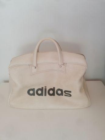 Saco branco adidas vintage