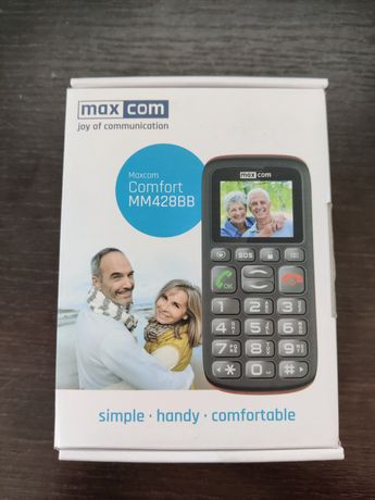 Telefon Maxcom MM428 Dual sim dla seniora
