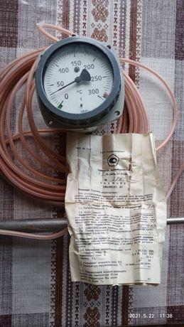 Термометр манометричний ТГП-100Эк-М1-ухл4 разр.Мощ. 30Ва 0-300