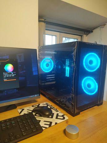 Pc gaming Ryzen 5 Pro 4650G 4.2 GHz/Trident Z RGB 16GB/Lian-Li O11 D