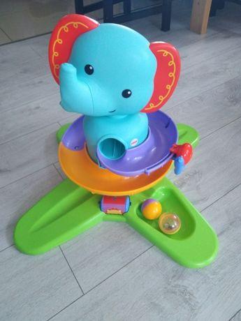 Zabawka słonik zjeżdżalnia Fisher Price